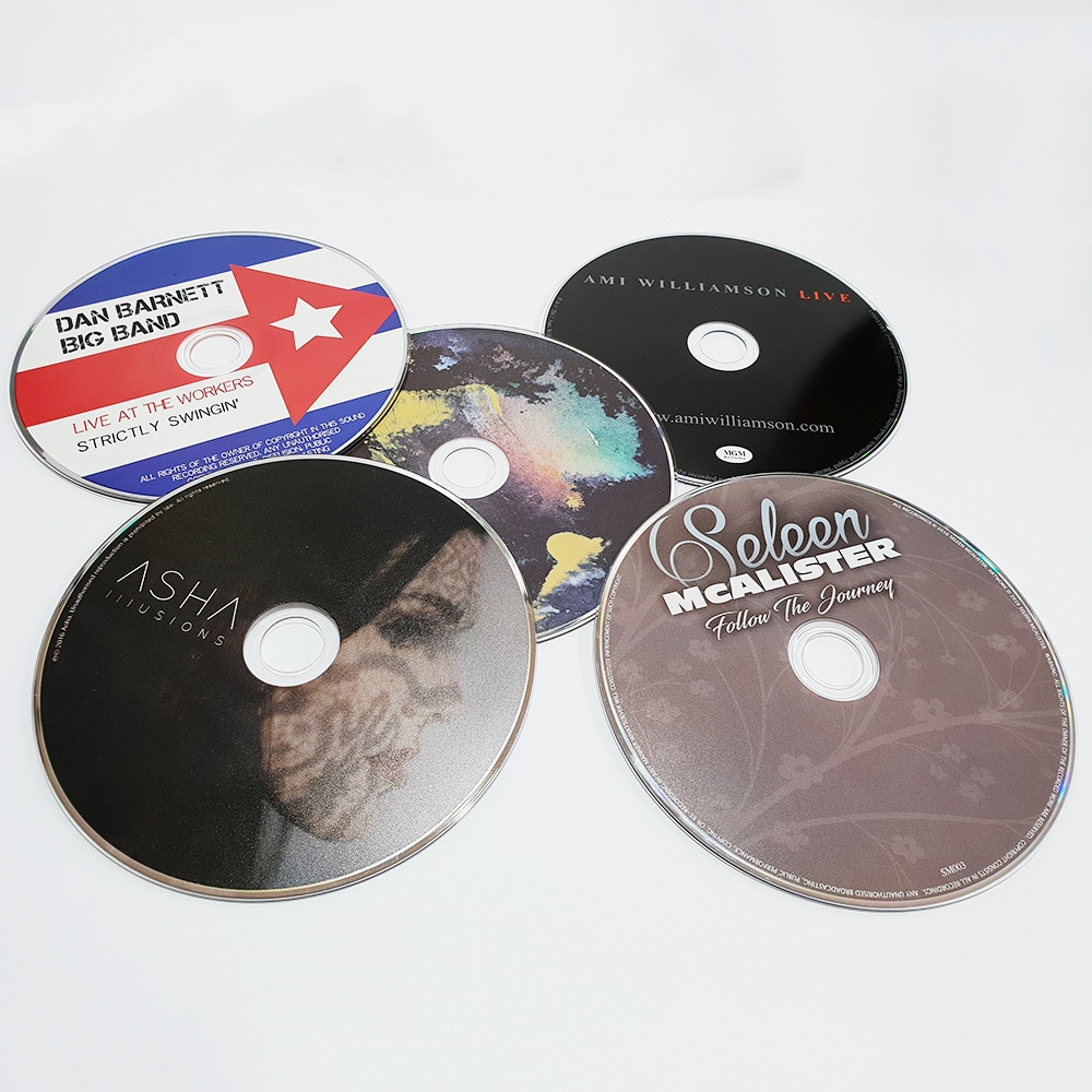 Custom CD, CD Printing and disc packaging