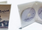 Clear DVD case 14mm inside view