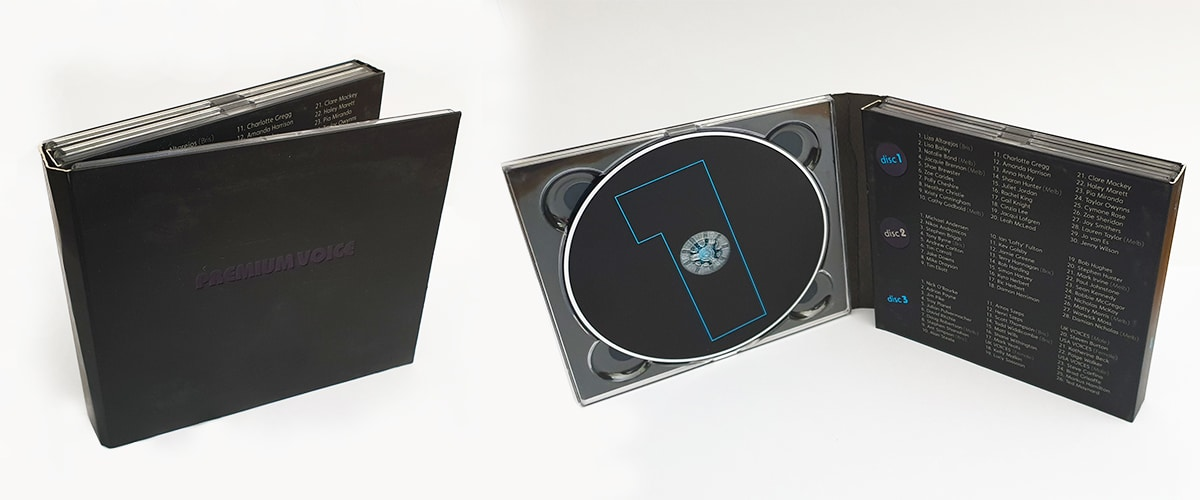 8 panel digipack inside view 3 cd case
