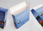 Folding Cardboard end opening Box